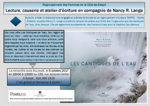 Lect causerie atelier 5 oct
