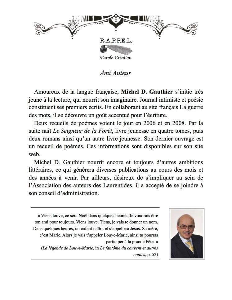 Michel D Gauthier