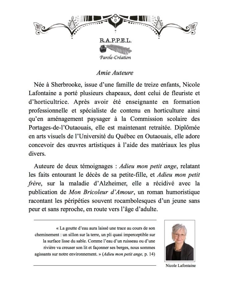 Nicole Lafontaine
