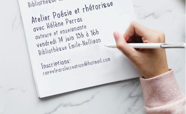 Atelier écriture printemps 2019 2