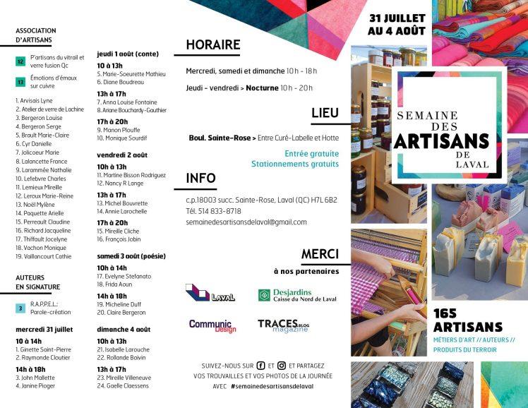 Semaine des artisans de Laval (2)