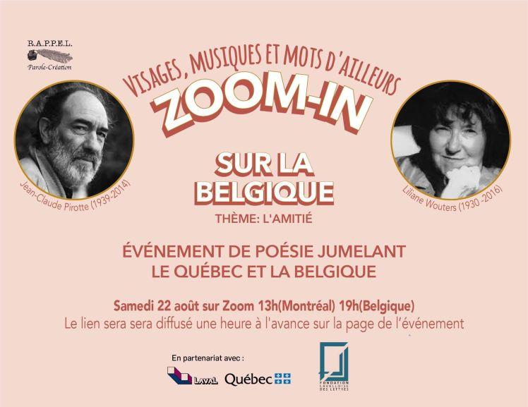 Événement Belgique 22 août